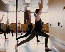 hot hatha 60 min  get hot yoga studio  serving maple